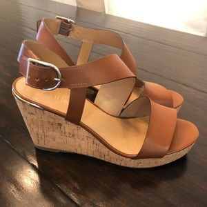 Franco Sarto | Women's Tan Wedges